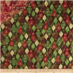 Marblehead Double Sided Quilted Holiday Ornaments