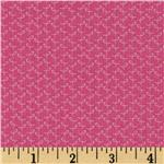 FT-914 Love & Hope Small Ribbons Hot Pink