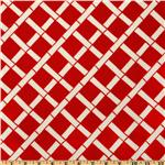 UK-056 Premier Prints Indoor/Outdoor Cadence American Red