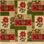 0269627 Winter Memories Patchwork Multi
