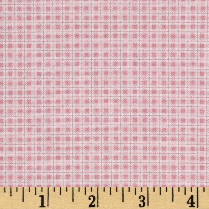 Garden Tales Gingham Pink