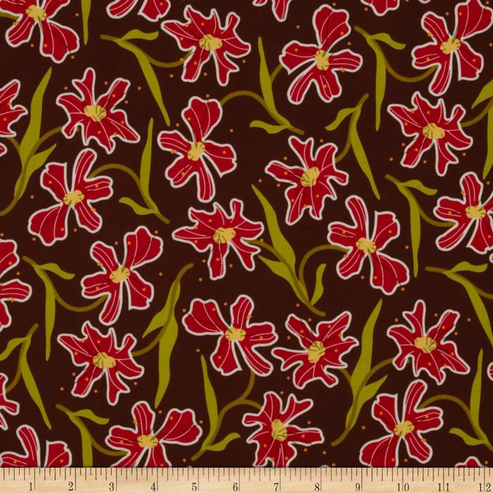 Oreganata Floral Brown