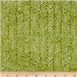 0269916 Bali Batiks Herringbone Green