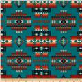 Tucson Beaded Blanket Teal