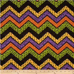 Halloween Chevron Multi