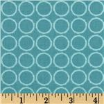 Blooming Lovely Circles Spa Blue