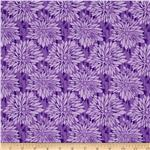 0281848 Ty Pennington Home Decor Impressions Dahlia Purple