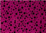 "Fanci Felt 9 x 12"" Craft Cut Random Dots Fuchsia"