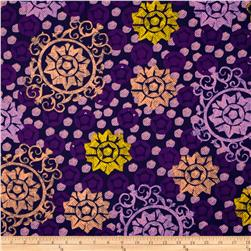 Chiffon Medallion Purple