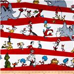 0265347 Celebrate Seuss! Minky Party Stripe Celebration