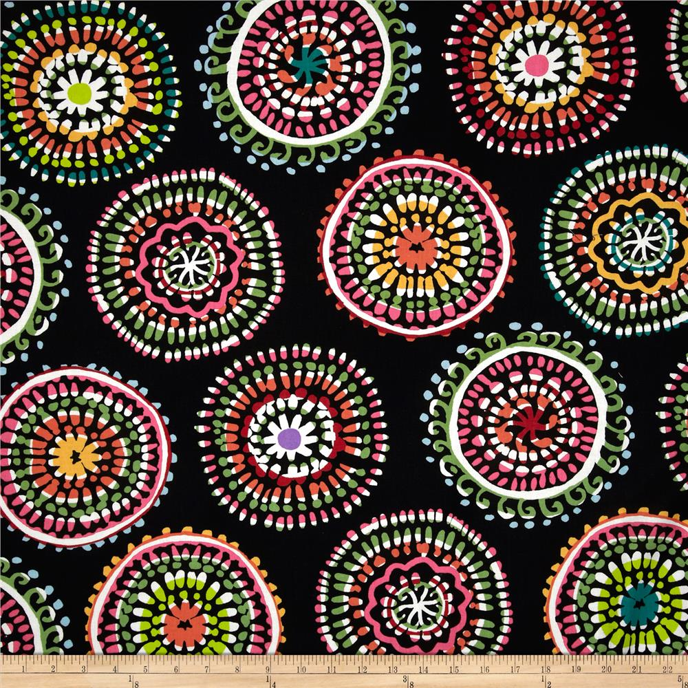 Sun-Kissed Large Mosaic Black/Multi