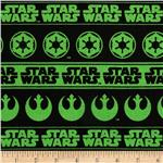 Star Wars Logo Green