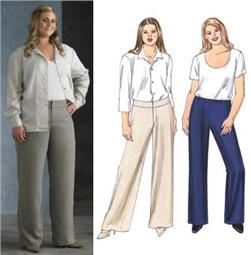 Kwik Sew Pants Plus Size Pattern