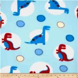 Baby Boy Fleece Dino World Blue