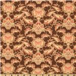 Fortiny Vintage Motif Chocolate