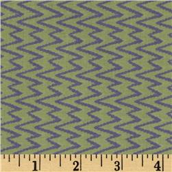 Primitivia Zig Zags Green/Purple