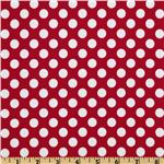 Michael Miller PUL (Polyurethane Laminate) Ta Dot Red