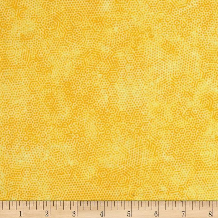 Dimples Flannel Lemon