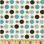FG-045 Flea Market Fancy Legacy Collection Flower &amp; Dot Turquoise