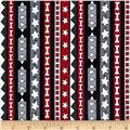 Kanvas In The Dog House Fido Stripe Black/Grey
