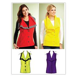 Kwik Sew Misses Vests (3845) Pattern
