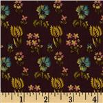 0285469 Prairie Home and Companions Indienne Floral Plum