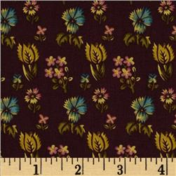 Prairie Home and Companions Indienne Floral Plum