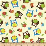 0307730 Bright Owl Allover Tan
