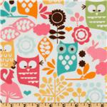 EN-297 Michael Miller Forest Life Flannel Watermelon