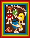 M &amp; M Big Fun Wallhanging Panel Red