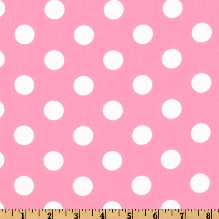 Light pink polka dot backgrounds