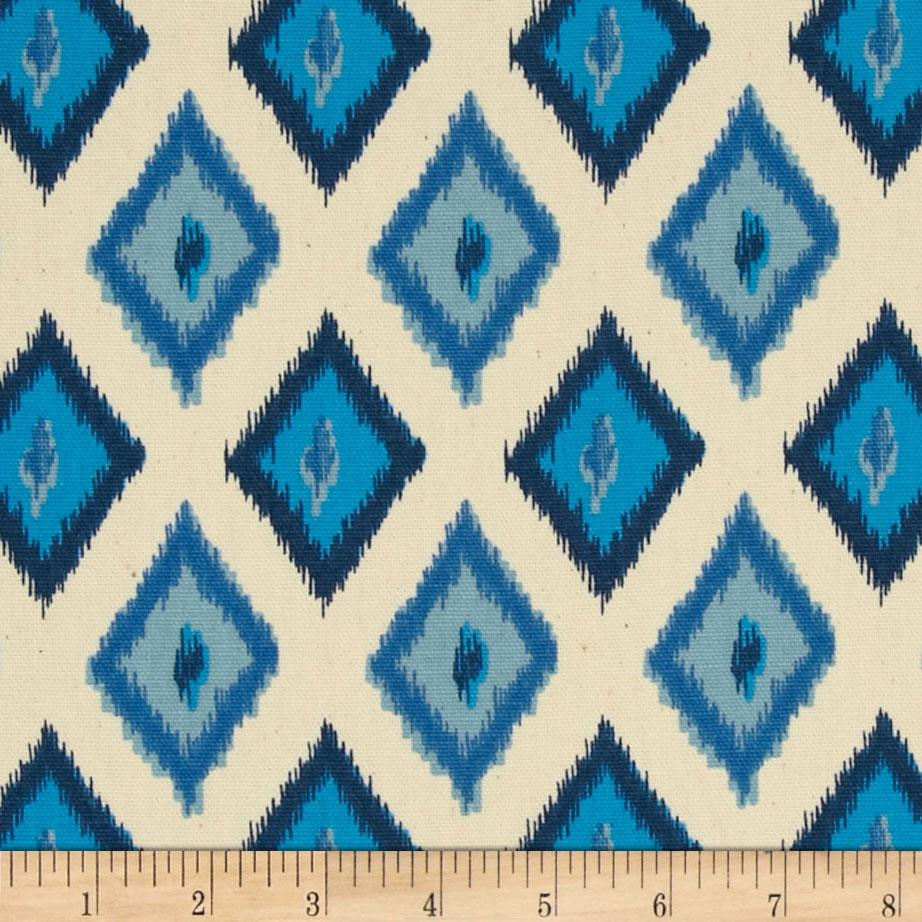 Premier Prints Carnival Arctic Blue/Natural