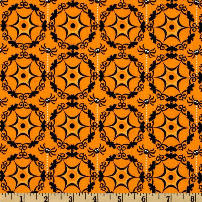 Costume Clubhouse Cobweb Orange