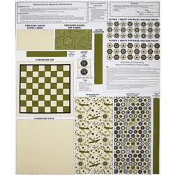 Riley Blake Maverick Gameboard Panel Khaki