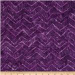 Tonga Batik Zig Zag Violet