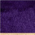 Faux Fur Electric Shag Purple