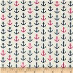 0274192 In the Navy Anchor White/Pink