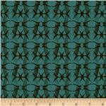 0273178 Drawing Book Stems Teal/Black