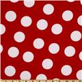 Pimatex Basics Jumbo Dot Red/White