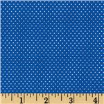 FO-164 Pin Dot Royal Blue