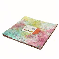 "Moda Color Crush Batiks 10"" Layer Cake"