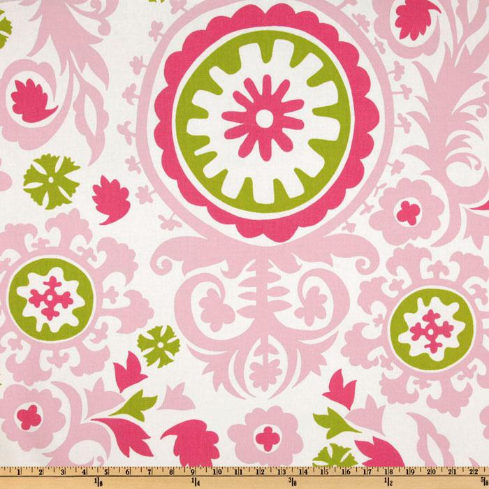 Premier Prints Suzani Maggie/Candy Pink
