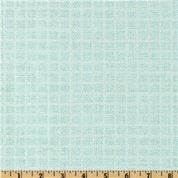 Baby Talk Checker Blue
