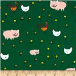 0291735 Happy Drawing Too Organic Barnyard Green