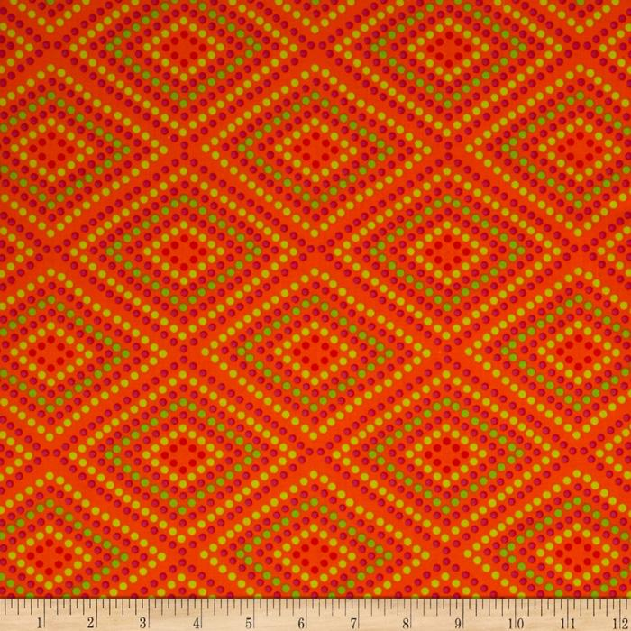 Garden Party Garden Mosaic Orange