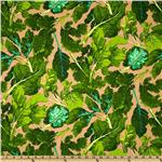 Martha Negley Classics Collection Veggie Leaves Green