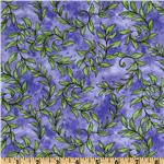 Garden Whimsy Vines Purple