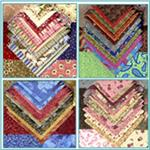 Designer Charm Packs, Strips, Squares & Fat Quarter Assortments