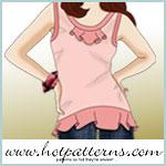 Flutter-By Tank Top Pattern Download