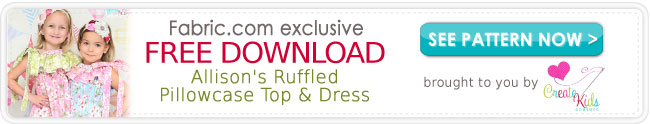 Allison's Ruffled Pillowcase Top & Dress Download
